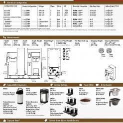 fetco 2131 xts 1g batch brewer technical specs
