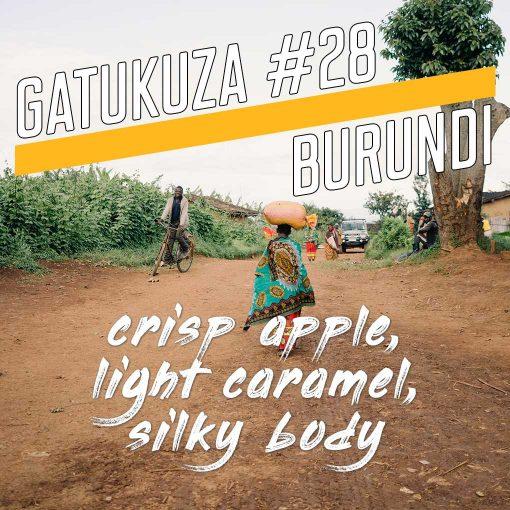 Long Miles Gatukuza Burundi coffee