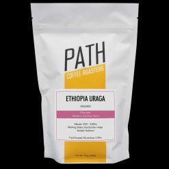 Ethiopia Uraga whole bean coffee